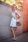 Ivory-dress-navy-shoes-bronze-bag