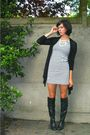 Black-boots-white-dress-black-cardigan