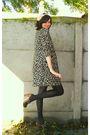 Brown-coat-white-dress-black-tights-brown-clogs