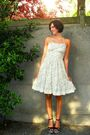 White-new-look-dress-black-sac-danvers-shoes