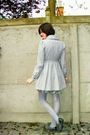 Gray-coat-gray-shoes-gray-tights-blue-dress