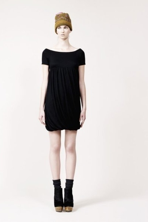 black Antpodium dress
