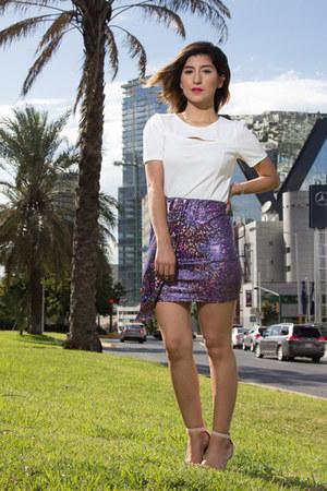 purple Vericachan Co skirt