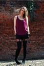 Zara-shorts-republic-boots-pretty-polly-tights-zara-top
