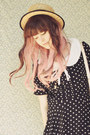 Light-pink-wig-ebay-accessories-black-peter-pan-oasap-dress