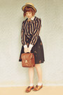 Beige-wholesale-hat-brown-vintage-bag-tawny-vintage-loafers