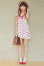 Ruby-red-sailor-bows-mod-dolly-dress-beige-boater-wholesale-hat