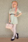 Black-creeper-style-label-shoes-shoes-light-blue-pastel-romwe-dress