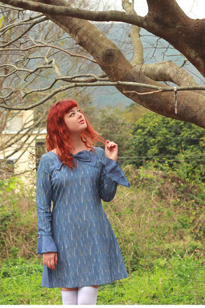 sky blue Book of Deer dress