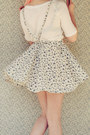 Periwinkle-diy-skirt-beige-wholesale-hat