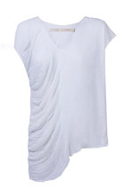 Sleeveless V Neck Tee