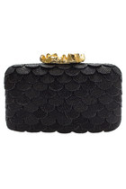 Capucine Bubble Clutch