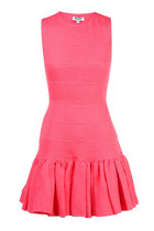 Cut-Out Ruffle Dress