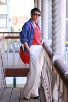 H&M cardigan - asos pants