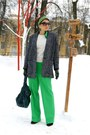 Green-h-m-scarf-charcoal-gray-mango-coat-green-asos-pants