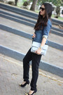 Blue-lab-jacket-heather-gray-forever21-bag