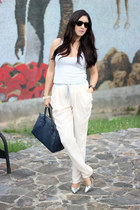 Invicta watch - ray-ban sunglasses - Shoedazzle pumps - Bebe top - pants