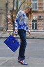 Blue-sweater-blue-bag-navy-panties-red-sneakers