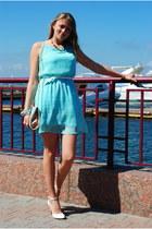 New Yorker dress - Accessorize bag - Plato heels