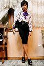 White-vintage-ebay-black-emporio-armani-belt-black-diy-originally-a-tight-pa