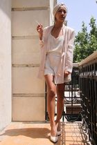shoes - cream tank top Dona Karan - Chloe - Stella McCartney