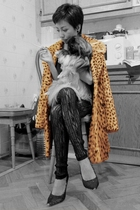Vintage leopard fur coat + Jedi