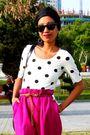 Black-ray-ban-sunglasses-black-from-oman-h-m-pink-bendover-levi-strauss-vi