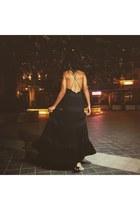 black Valentino dress
