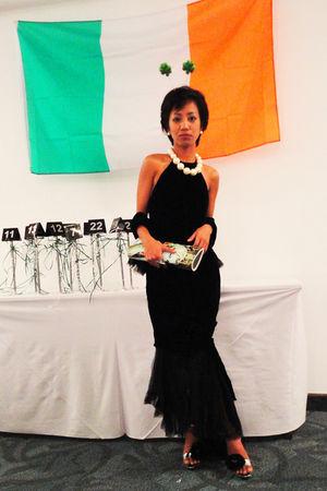 black jean paul gaultier - white Accessorize earrings - white Accessorize neckla
