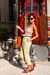 brown kitten heels shoes - black Ray Ban sunglasses - Topshop - Topshop necklace