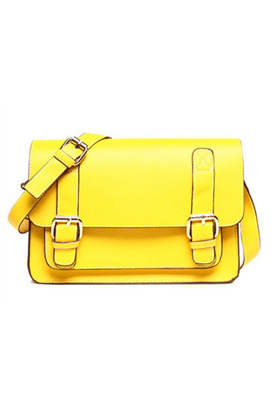 yellow romwe bag