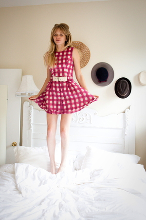 Opening Ceremony dress - all 4 - vintage hat