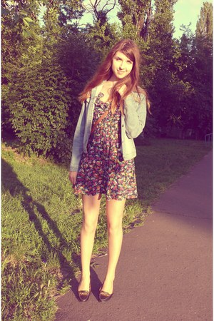 new look dress - denim Dorothy Perkins jacket