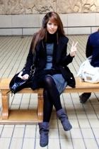 Tralala coat - Tralala dress - Bershka boots