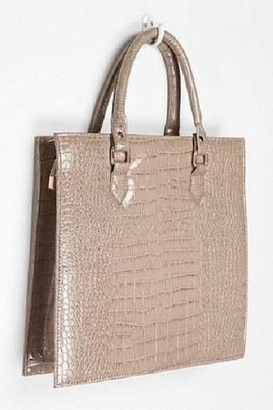 croc tote purse