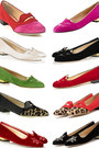Hot-pink-kitty-shoes-flats