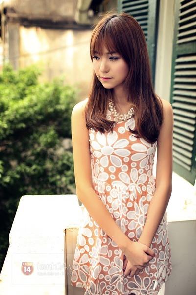 eggshell dress