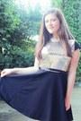 Black-eponge-dress