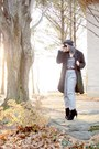 Heather-gray-h-m-pants-brown-thrifted-vintage-belt-black-nastygal-jacket-b