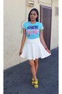 David-goliath-t-shirt-hot-miami-styles-skirt-fashion-q-heels