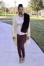Pink-floral-gifted-coat-maroon-faux-fur-target-scarf