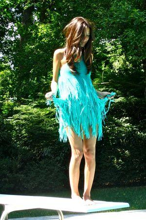 green Forever 21 dress