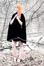 Cream-chiffon-forever-21-dress-black-velvet-cape