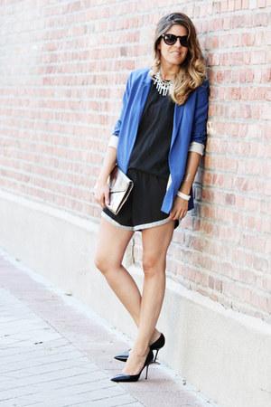 whiz shorts - Zara blazer - Mango sunglasses - Magrit heels