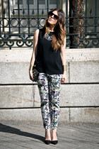 Malababa bag - Mango accessories - Zara pants