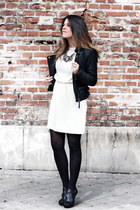 Zara dress - Zara jacket - Modern Vintage sandals