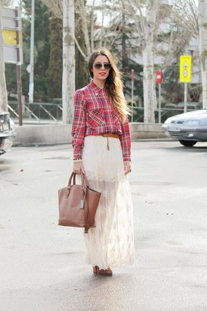Primark bag - Zara skirt