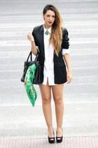 H&M blazer - Zara bag