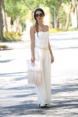 Zara pants - Bershka bodysuit