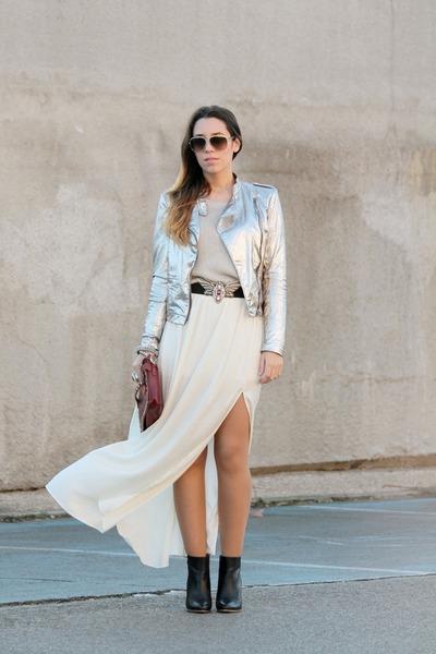 Mango jacket - Zara skirt